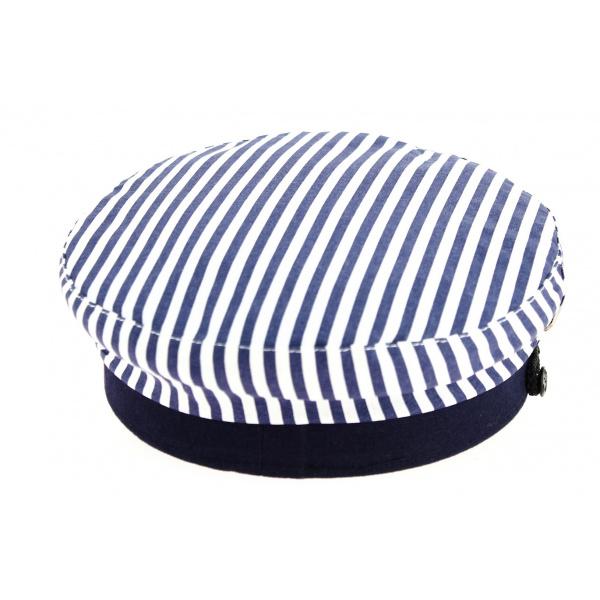 Casquette Marin Arzon Rayée Bleu & Blanc-Traclet