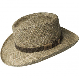 Chapeau Papier Paille Harvey - Bailey