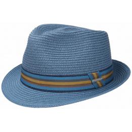 Chapeau Trilby Munster Toyo Bleu- Stetson