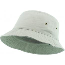 Bucket Hat Cotton Beige