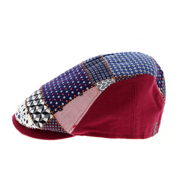 Casquette Patchwork Domiti Lin & Coton- Traclet