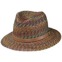 Chapeau Traveller Arrans Paille Papier Multicolore- Traclet