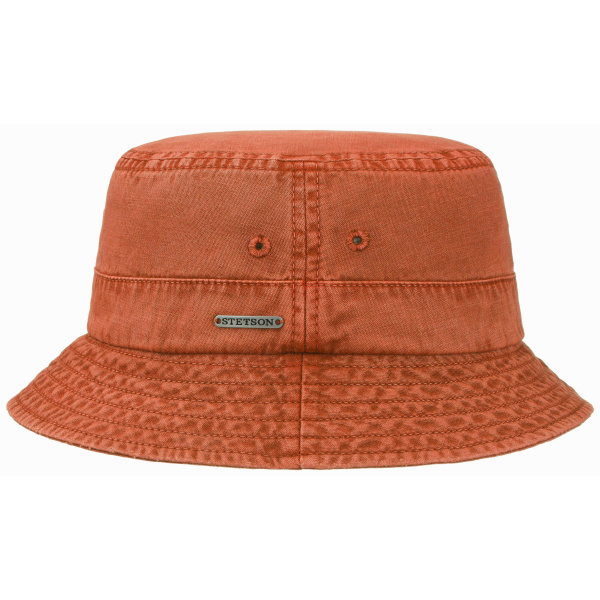 Bob Dyed Coton Délavé Orange - Stetson