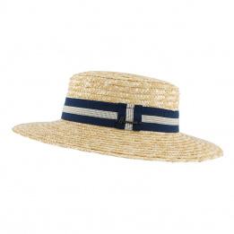 Boater Hat Apeldoorn Straw - Herman