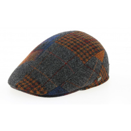 Casquette Brighton Bussy Patchwork Grise- Crambes