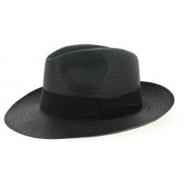 Chapeau Panama Moden Noir- Traclet