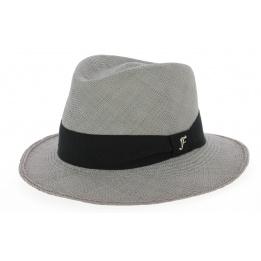 Chapeau Seppia Papier Paille - Flechet