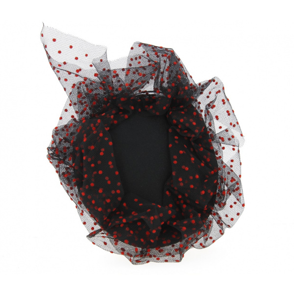 Tambourin Doriane Noir & Rouge- Traclet