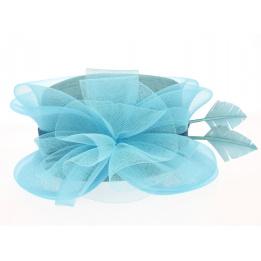 Chapeau de Cérémonie Alicia Bleu- Traclet