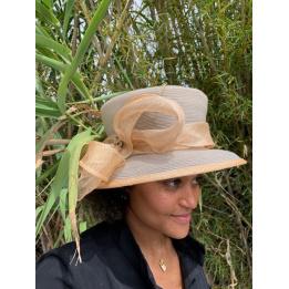 Chapeau de Cérémonie Rosa - Traclet