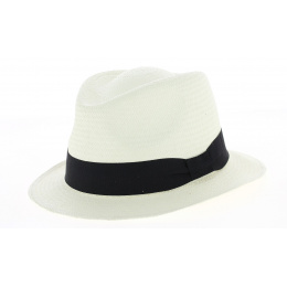 Chapeau Traveller panama petit bord