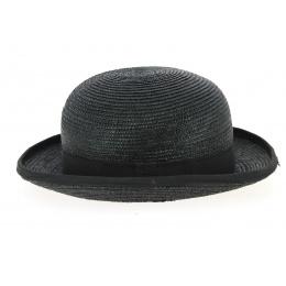 Chapeau Melon Paille Noir