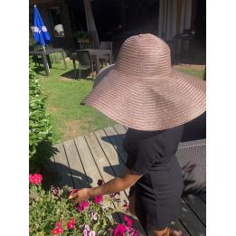 Capeline Thonon Rose Métallisé- Traclet