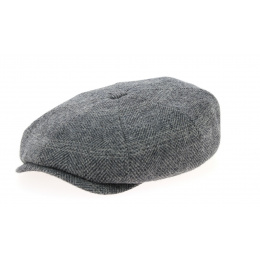 Casquette Hatteras Many Woolrich Grise- Stetson