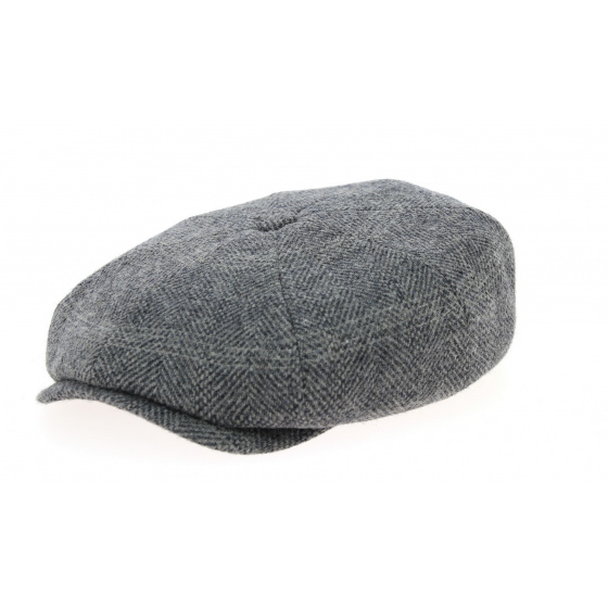 Casquette hatteras Many Haris tweed - Stetson