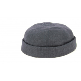 Bonnet Docker Jersey Coton Bleu - Stetson