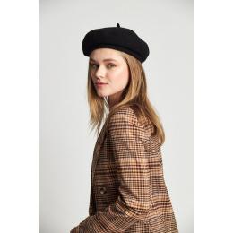 Béret Audrey Laine Noir - Brixton