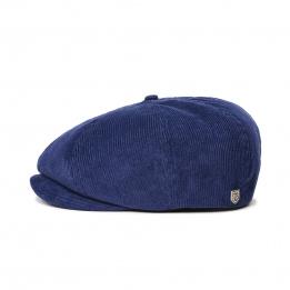 Casquette Brood Coton  Bleu Patriote- Brixton