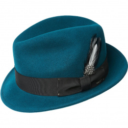 Chapeau tino vert bouteille Trilby Bailey