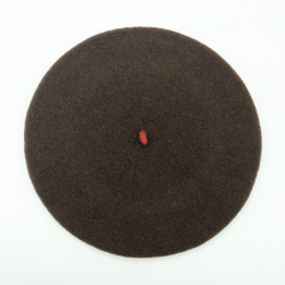 Beret le beret French brown