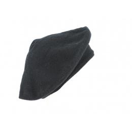 Cashmere Beret Black or Grey - Traclet