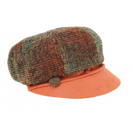 Casquette Gavroche Lochness Brique- Traclet