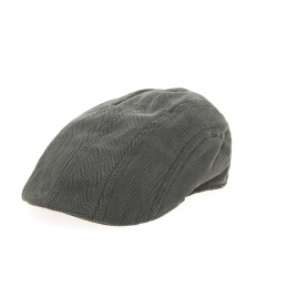 Mansfield Bombed Cap Grey Cotton - Gottmann