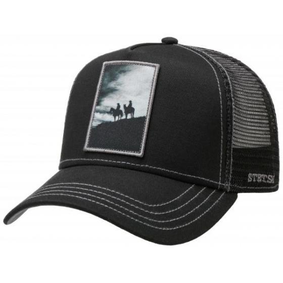 Trucker Cap Silhouette Black- Stetson