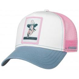 Casquette Trucker Girls Rose- Stetson
