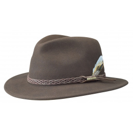 Stetson Newark hat brown