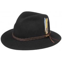 Chapeau Newark Stetson noir