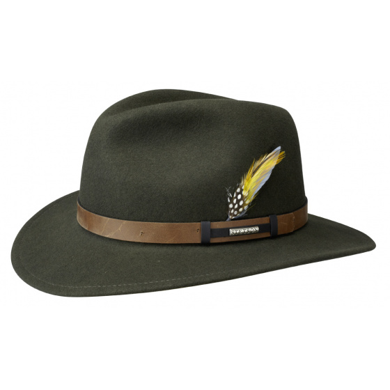 Traveller Sardis Olive Hat - Stetson