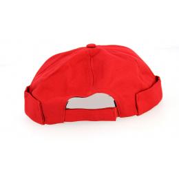 Bonnet Docker Coton Rouge Triskel- Traclet