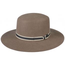 Chapeau Amish Feutre laine Marron/Beige - Stetson