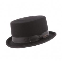 Chapeau Demi Haut de Forme Don Vegas Noir- Herman