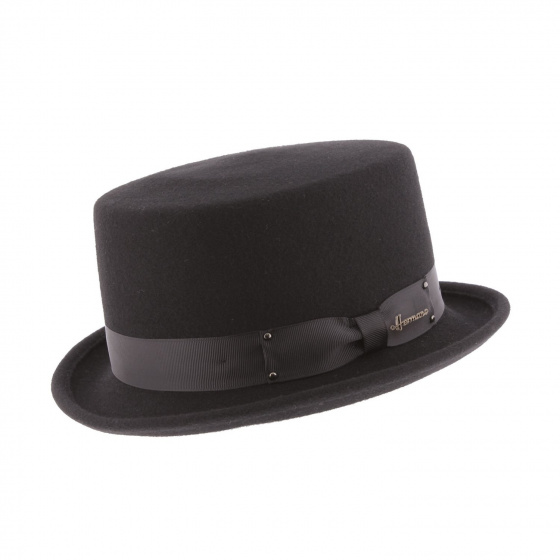 Half Hat Top Hat Don Vegas Black - Herman