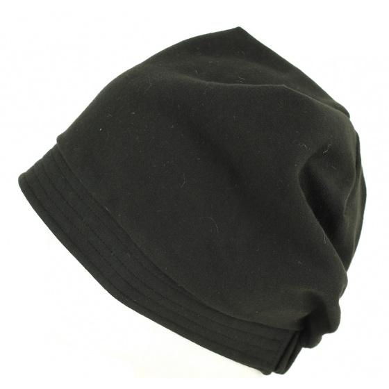 Turban chimiotherapie noir