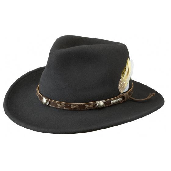 Traveller Vail vitafelt Hat Black - Stetson