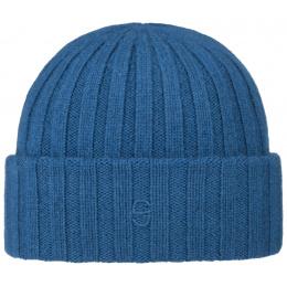 Bonnet Cachemire Surth Bleu- Stetson