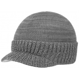 Cap Cap Cotton Grey - Stetson