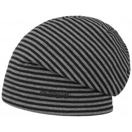 Bonnet Réversible Jersey Gris- Stetson