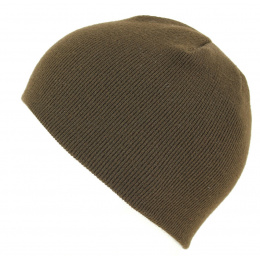 Bonnet Court Acrylique Pull-On Cuffless Marron- Kangol