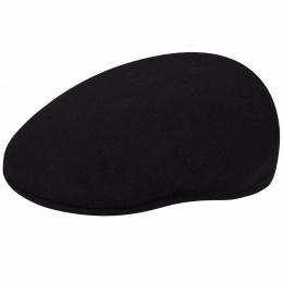 Flat cap 504 Wool winter Black - Kangol
