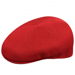 Casquette Plate Tropic 504 Rouge - Kangol