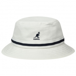 Bob Stripe Lahinch Cotton White - Kangol