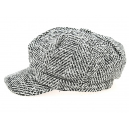 Casquette Gavroche Clèves Chevrons- Traclet