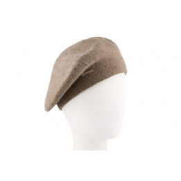 Béret Femme Louise Taupe- Herman