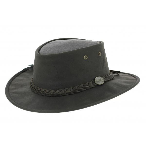 Kangaroo leather hat - Sundowner Barmah