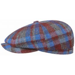 Casquette Hatteras Lambswool Patchwork - STETSON