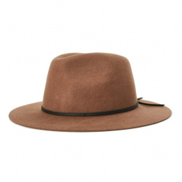 Chapeau Traveller Thorpe Coton Noir - Brixton
